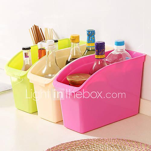 dicke Kunststoff-Desktop oder in der Küche Aufbewahrungsbox sn0045