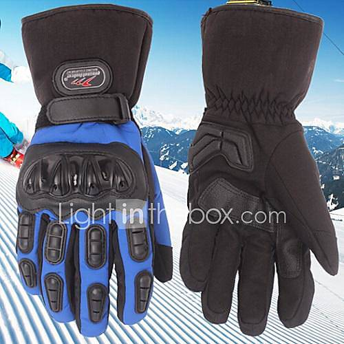 MADBIKE™ Winter Warm Windproof Waterproof Protective Full Finger Racing Bike Glove Motorcycle Gloves