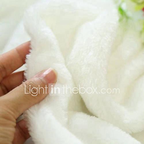 Qihang 50  50cm weiß noil Tuch photography Hintergrund / wallpaper Papier (weiß)