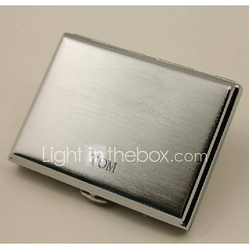 personifizierte schwarze Metall Zigarettenetui Zigarettenpackungen (20