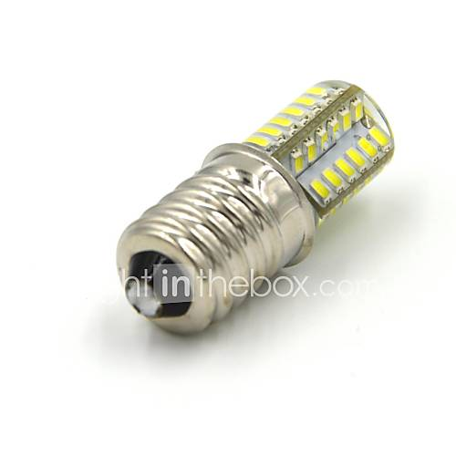 E14 3W 48 SMD 3014 250 LM Warm White / Cool White LED Corn Lights V