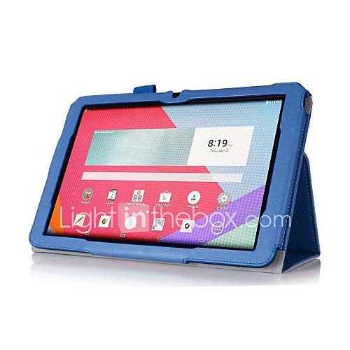 pajiatu PU-Leder stehen 10.1 '' Tablet-Kastenabdeckung mit Handhalter und Kartenslot für LG g Pad 10.1 V700 (verschiedene Farben)