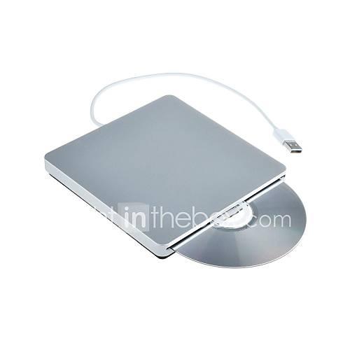 externe USB-Steckplatz CD RW Laufwerk Brenner Superdrive für Apple MacBook Pro Air iMac