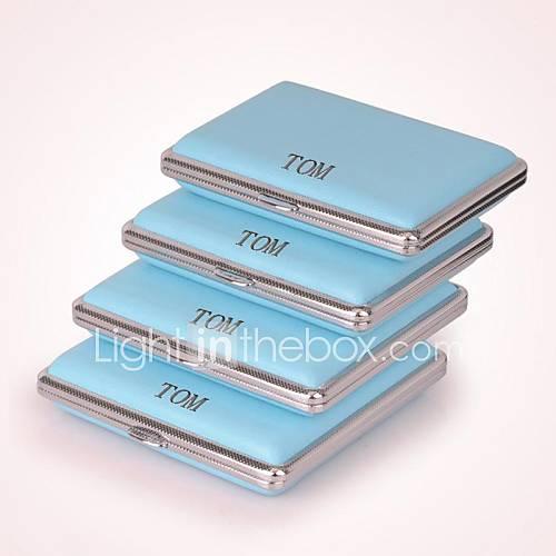 personalisierte blau drei Größen Pack Metallmaterial (18)