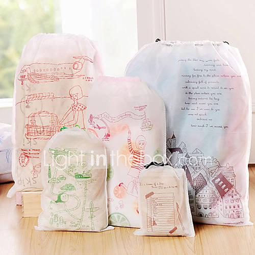 koreanische Art Muster Unterwäsche und Stoffaufbewahrungsbeutel