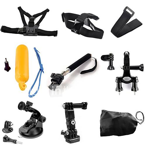 Chest Harness Front Mounting Monopod Suction Cup Straps Hand Straps Mount/Holder Smart Remotes Floating For Gopro Hero 2 Gopro Hero 5