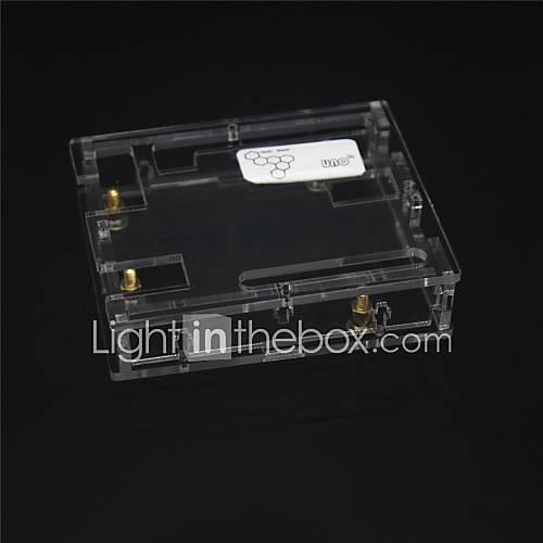 Caso acrilica protettiva per Arduino Uno