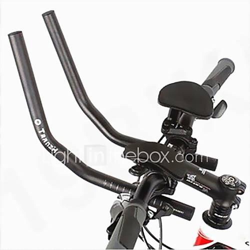 WEST BIKING Cycling Race Bicycle MTB Aluminum Alloy Triathlon Aero Handlebar Rest Handlebar Separated 2pcs