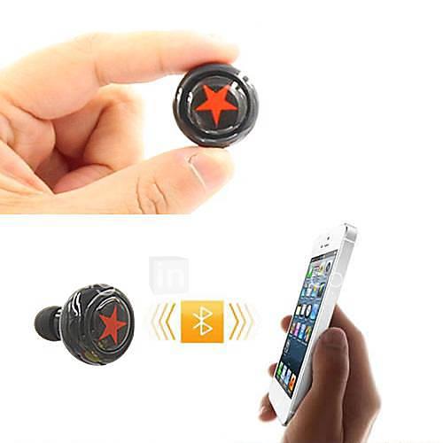 bluetooth v3.0 in-ear casque stéréo avec micro pour / 5 htc lg de la 6/5 / 5s Samsung et d'autres (couleurs assorties)