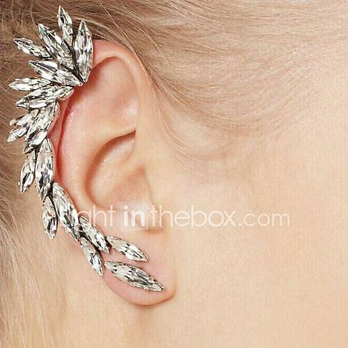 Puños del oído Gema Resina Brillante Legierung Estilo Simple Moda Plata Joyas Diario 1 pieza Miniinthebox por 2.93€