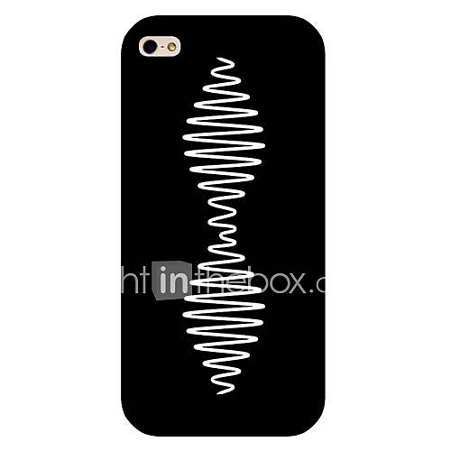Curve Pattern Hard Back Case for iPhone 5/5S