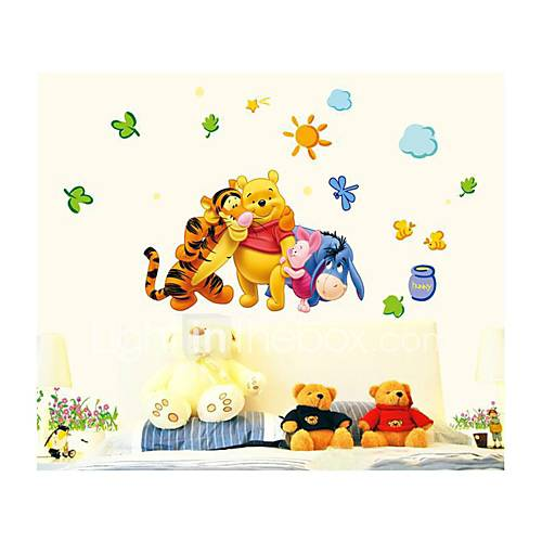 Wall Stickers Wall Decals Style Disney Cartoon PVC Wall Stickers