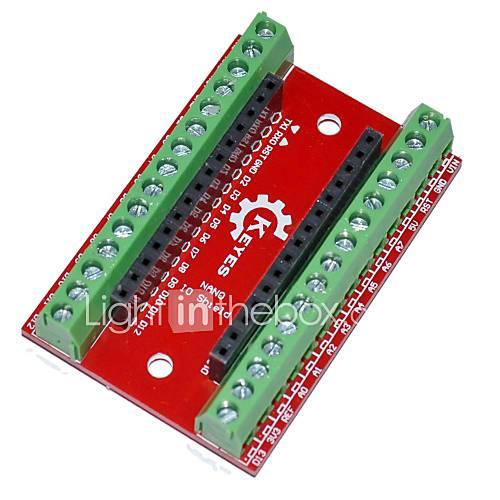 Keyes nano io protector de la placa de expansión para arduino Descuento en Miniinthebox