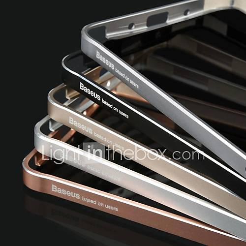 BASEUS Ultrathin Aerospace Aluminum Alloy Bumper Frame Hard Case for Samsung Galaxy Note 4