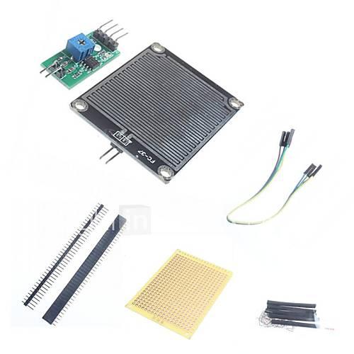 DIY Rain Sensor Module and Accessories for Arduino