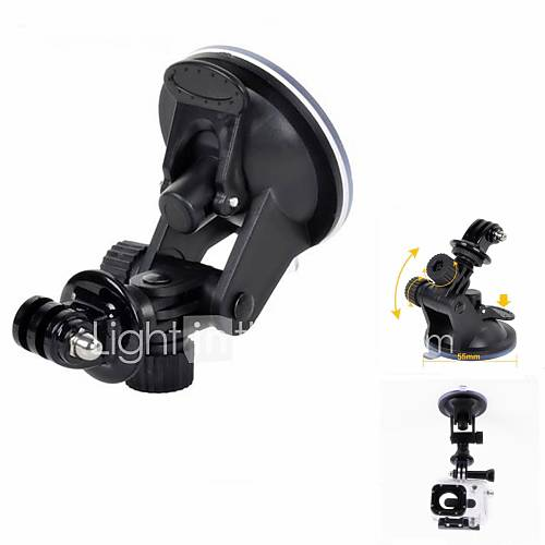 Suction Cup Mount / Holder For Gopro 5 Gopro 4 Gopro 3 Gopro 2 Gopro 3 Others