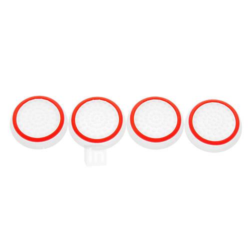 4pcs / lot noctilucentes silicona tapa del pulgar del palillo agarre la palanca de mando para la PS3 de Sony PS4 xbox 360 xbox un controlador Descuento en Miniinthebox