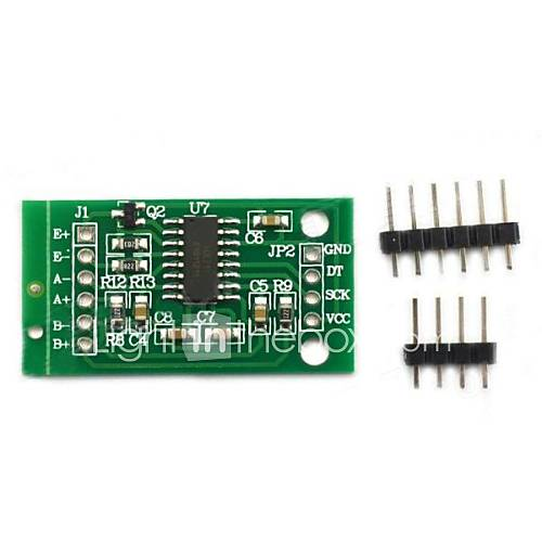 hx711 módulo microcontrolador ad pesaje bricolaje – verde militar Miniinthebox por 2.93€