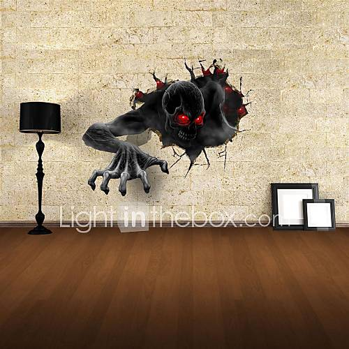 3D Wall Stickers Wall Decals The Devil Decor Vinyl Wall Stickers
