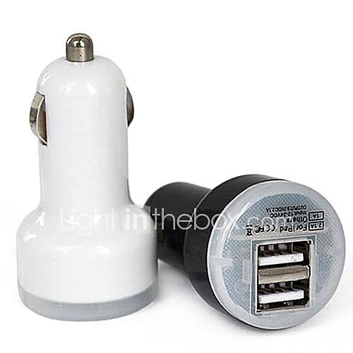 Dual USB mini pallottola caricabatteria da