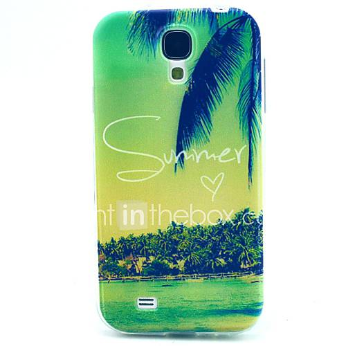 Case For Samsung Galaxy Samsung Galaxy Case Pattern Back Cover Scenery TPU for S4 Mini