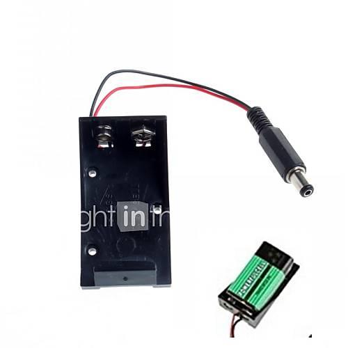 titular de la alta calidad 9V batería para arduino Descuento en Miniinthebox