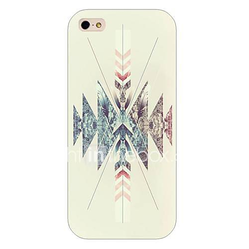 For iPhone 5 Case Case Cover Pattern Back Cover Case Geometric Pattern Hard PC for iPhone SE/5s iPhone 5