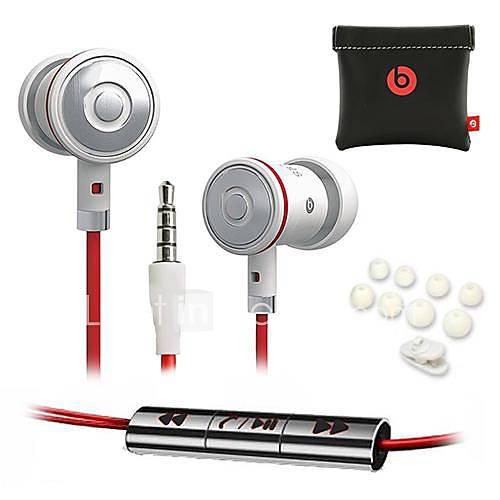 Ecouteurs ( Noir/Blanc , Microphone/Règlage de volume/Ecouteurs/Réduction de bruit ) - Classique - Dans l'oreille - Cablé