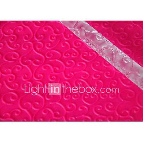 FOUR-C Fondant Rolling Pin Cup Cake Top Decoration Color Transparent 1PCS