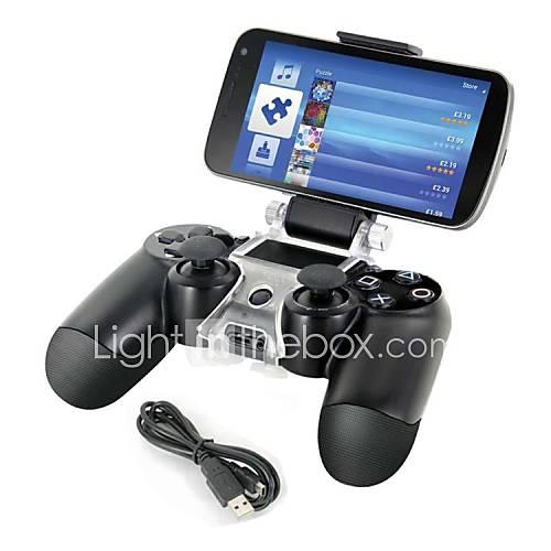 teléfono inteligente montar titular de almacenamiento del soporte  cable de carga para el gamepad controlador PS4 Miniinthebox por 5.87€