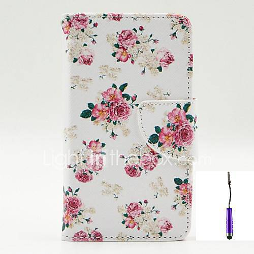 Case For LG L90 LG G3 LG L70 LG LG Case Card Holder Wallet with Stand Flip Full Body Cases Flower Hard PU Leather for