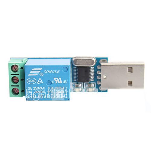interruptor de control del módulo relé usb / inteligente Miniinthebox por 12.73€