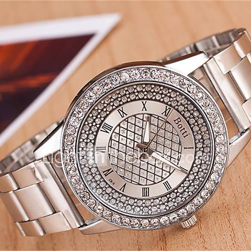 Mujer Reloj de Moda Cuarzo Metal Banda Plata Dorado Marca yoonheel Descuento en Miniinthebox