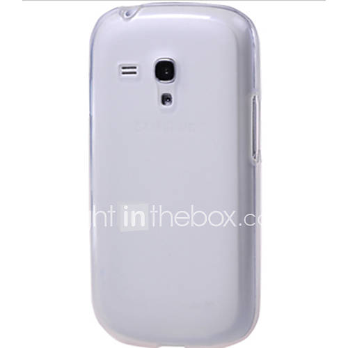 Case For Samsung Galaxy Samsung Galaxy Case Transparent Back Cover Solid Color TPU for S3 Mini