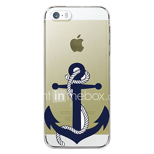 Case For Apple iPhone 5 Case iPhone 6 iPhone 6 Plus iPhone 7 Plus iPhone 7 Pattern Back Cover Anchor Hard TPU for iPhone 7 Plus iPhone 7