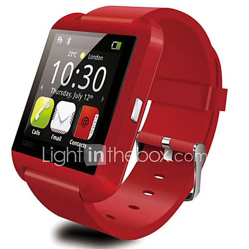 Bluetooth Smart Watch WristWatch WU8  Watch for Samsung  HTC LG Huawei Xiaomi Android Phone Smartphones