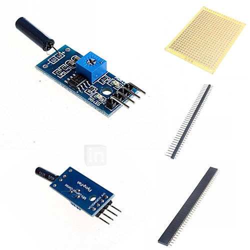 Vibration Sensor Module and Accessories for Arduino