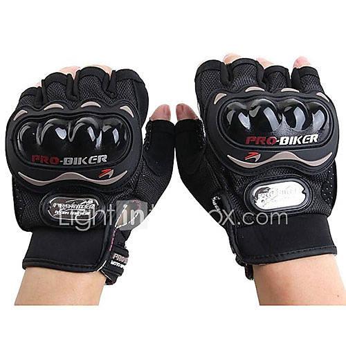 PRO-BIKER MCS-04C Motorcycle Racing Half-Finger Protective Gloves