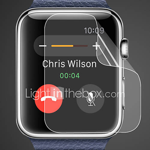 Protector de pantalla de 0,1 mm hd de 42 mm reloj de manzana Descuento en Miniinthebox