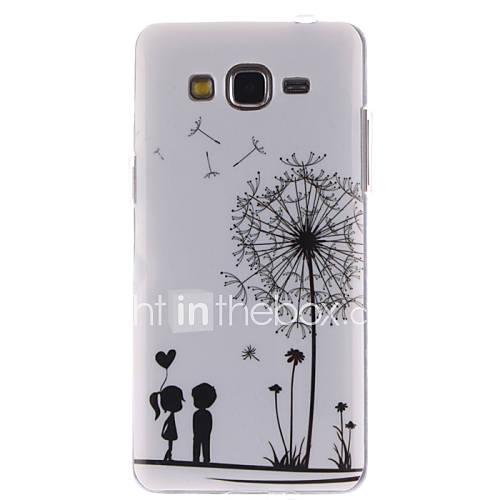 For Samsung Galaxy Case Pattern Case Back Cover Case Dandelion TPU Samsung Grand Prime