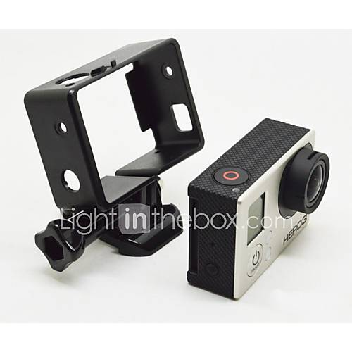 LCD Display Screen Tripod Smooth Frame Protective Case Screw Suction Cup Straps Mount / Holder For Gopro 3 Gopro 2 Gopro 3 Gopro 1