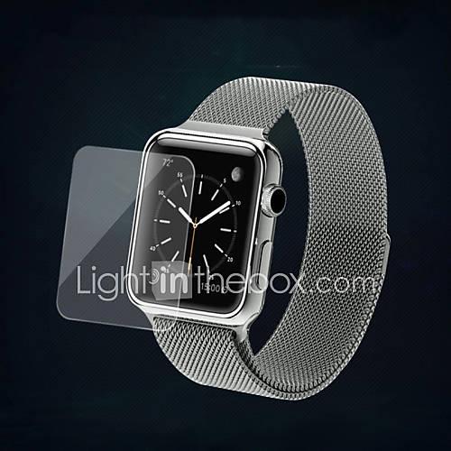 alta definición protector de la pantalla de cristal templado de 38 mm reloj de manzana Descuento en Miniinthebox