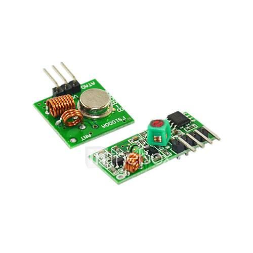433m módulo superregenerativo transmisor receptor mlarm módulo de transmisión inalámbrica 1 Descuento en Miniinthebox
