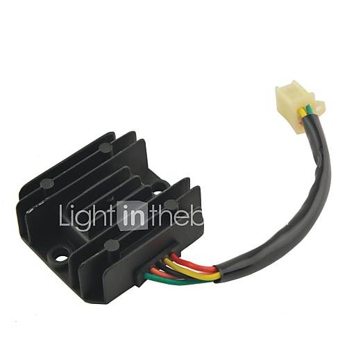 FXD-125 Universal Motorcycle 12V Voltage Regulator Rectifier