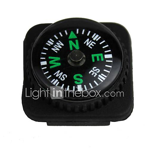 Compasses Survival / Convenient Hiking / Camping / Travel / Outdoor Plastic Black
