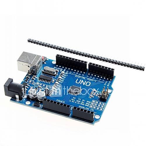 Uno R3 tablero del desarrollo del microcontrolador mejorado ATmega328P para Arduino Descuento en Miniinthebox