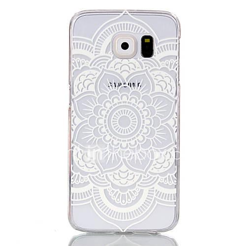 Case For Samsung Galaxy Samsung Galaxy Case Transparent Back Cover Mandala PC for S6 edge S6 S5 Mini S5 S4 Mini S3 Mini