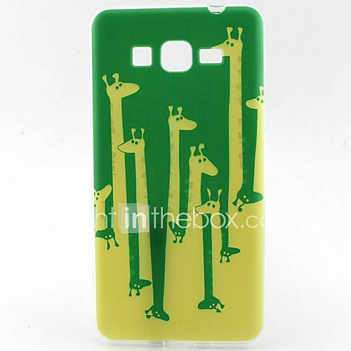For Samsung Galaxy Case Pattern Case Back Cover Case Cartoon TPU Samsung Grand Prime