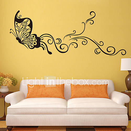 3D Wall Stickers Wall Decals Style Butterfly PVC Wall Stickers