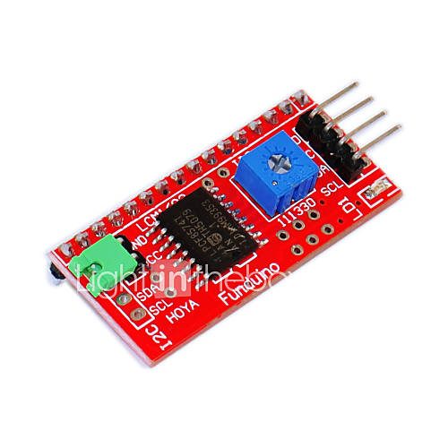 IIC/I2C/ LCD1602 interface For Arduino ...